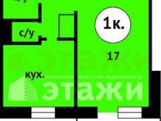 Продажа квартир: 1-комнатная квартира, Тюменская область, Тюмень, ул. Немцова, 41, фото 1