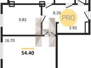 Продажа квартир: 2-комнатная квартира, Ростов-на-Дону, Вятская ул., 49, фото 1
