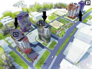 Продажа квартир: 3-комнатная квартира в новостройке, Уфа, ул. Рихарда Зорге, 63, фото 1