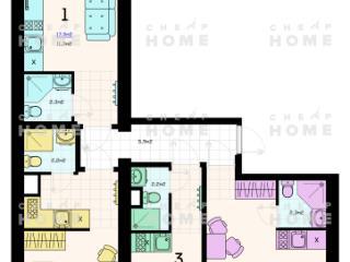 Продажа квартир: 1-комнатная квартира, Москва, Рязанский пр-кт, 76/2, фото 1