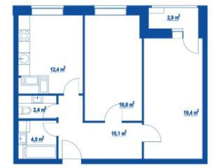Продажа квартир: 2-комнатная квартира, Москва, Дмитровское ш., 100, фото 1