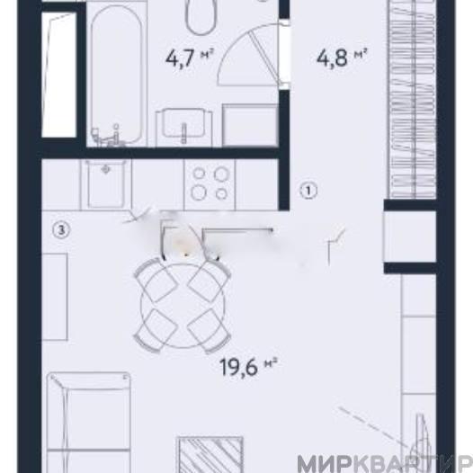 Продам квартиру Москва, Заречная ул., 4Б