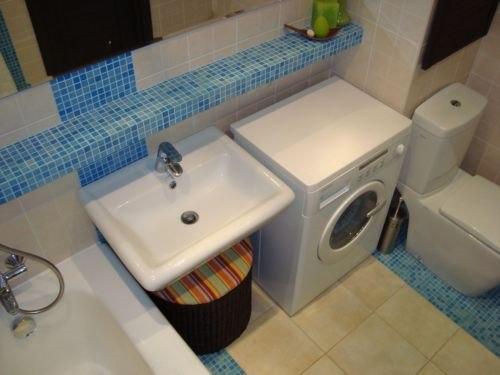 Ремонт ванной комнаты своими руками с фото