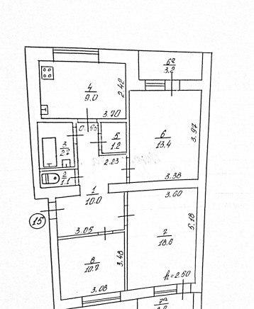 Продажа квартир: 3-комнатная квартира, республика Крым, Сакский р-н, с. Фрунзе, ул. Мира, 27, фото 1