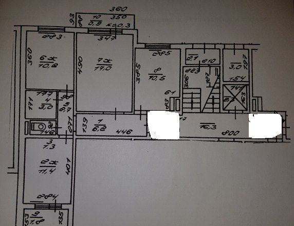 Продажа квартир: 3-комнатная квартира, Калининград, ул. Партизана Железняка, 6, фото 1