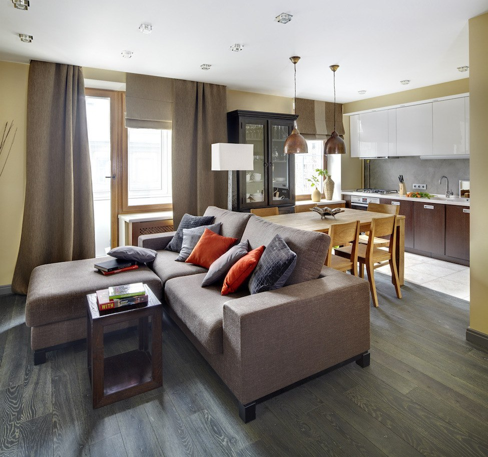 Аренда квартир: 2-комнатная квартира в новостройке, Москва, ул. Козлова, 34, фото 1